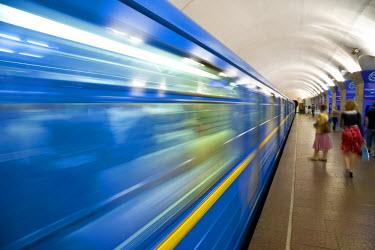 UA01074 Underground Metro (Subway), Kiev, Ukraine