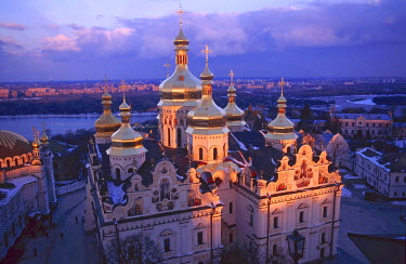 UA024BEW Dormition Cathedral, Kyiv-Pechersk Lavra monastery, Kiev, Ukraine
