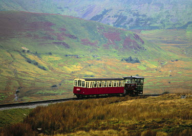 UK06002 Snowdon Mountain Railway, Snowdon, Wales