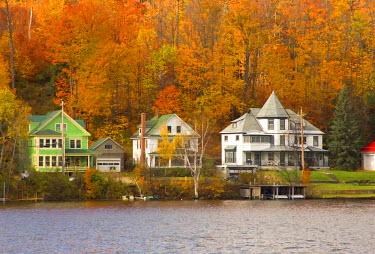 US01379 Saranac Lake, Adirondack Park, New York State, USA