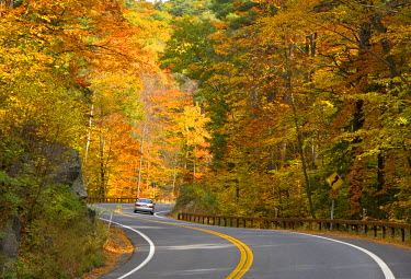 US01385 Road nr. Lake George, New York State, USA