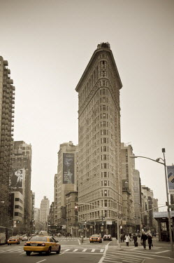 US01479 USA, New York City, Fifth Avenue and Broadway, Flatiron Building