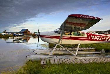 US41070 Lake Hood Air Harbor, Anchorage, Alaska, USA
