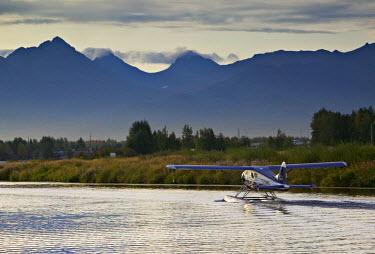 US41071 Lake Hood Air Harbor, Anchorage, Alaska, USA