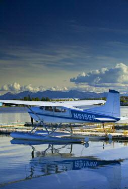 US41074 Lake Hood Air Harbor, Anchorage, Alaska, USA