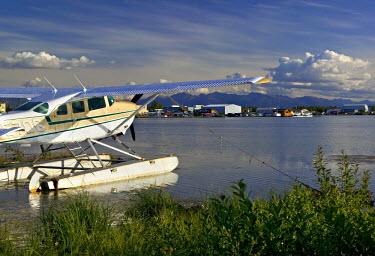US41075 Lake Hood Air Harbor, Anchorage, Alaska, USA