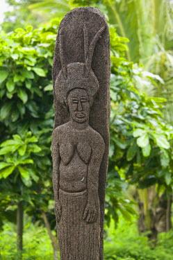 VA01043 Vanuatu, Tanna Island, Lamnatu, Native Lava Stone Carvings