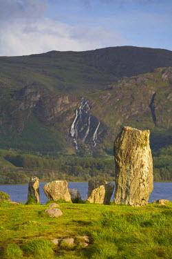 IE02171 Uragh stone circle, Beara Peninsula, Co. Cork & Co. Kerry, Ireland