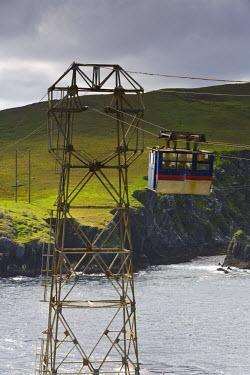 IE02303 Dursey Island Cable Car, Beara Peninsula, Co. Cork & Co. Kerry, Ireland