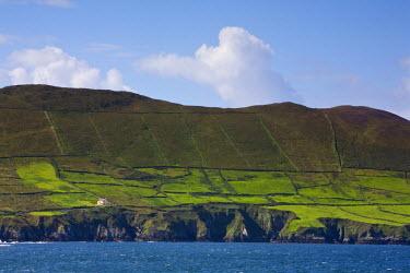 IE02297 Landscape near Allihies, Beara Peninsula, Co. Cork & Co. Kerry, Ireland