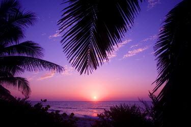 CA42_GJO0024_M Sunset at West End, Cayman Brac, Cayman Islands, Caribbean.