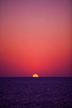 CA42_GJO0081_M Sunset, Little Cayman, Cayman Islands, Caribbean.