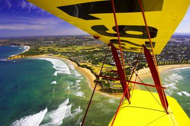 AU01_DWA1665_M Tiger Moth Biplane, Torquay, Victoria, Australia