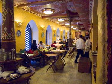 AS41_AKA0001_M Traditional Uzbek restaurant in Almaty, Kazakhstan