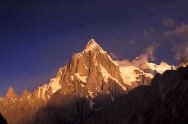 AS28_GJE0049_M Pakistan, Baltoro Muztagh Range. Paiju Peak, 21,650 Feet tall