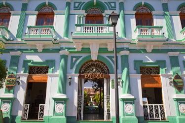 NI01185 Nicaragua, Granada, Calle La Calzada, Hotel Dario