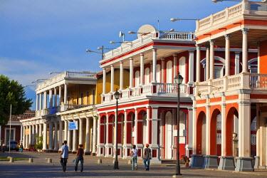 NI01147 Nicaragua, Granada, Park Colon, Park Central, Plaza de la Independencia