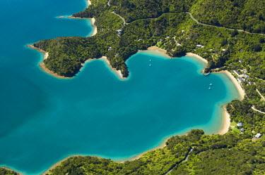 AU02_DWA1023_M Te Mahia Bay, Kenepuru Sound, Marlborough Sounds, South Island, New Zealand