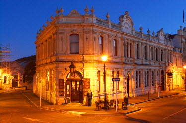 Historical Criterion Hotel, Oamaru, South Island, New Zealand