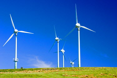 AU02_DWA3153_M Hau Nui Wind Farm, near Martinborough, Wairarapa, North Island, New Zealand