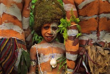 OC12_KSU0035_M Akeme Mossman tribesboy at the Sing Sing Festival, Mt. Hagen, Papua New Guinea