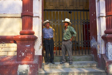 HN01098 Honduras, Copan, Santa Rosa De Copan, Historic town center