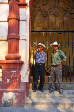 HN01097 Honduras, Copan, Santa Rosa De Copan, Historic town center