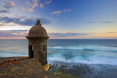 PR01052 Puerto Rico, San Juan, Old Town, Fuerte San Cristobal (Unesco Site)