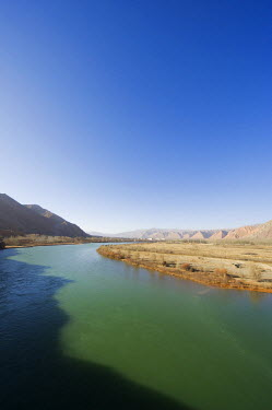 China, Qinghai Province, scenery on the Yellow river