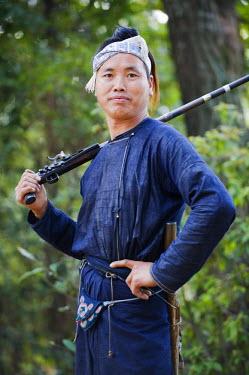 CH9018 China, Guizhou Province, Basha, Miao ethnic minority group