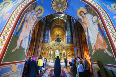 UKR1051 Ukraine, Kiev, St Michaels Gold Domed Monastery, 2001 copy of 1108 original