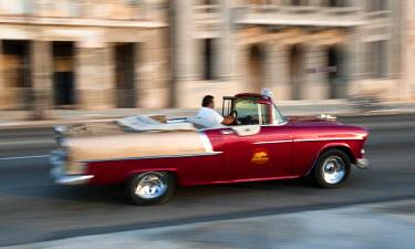 CUB1354AW Havana, Cuba, Caribbean