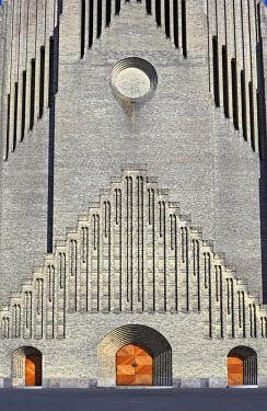 DK01062 Grundtvig church (1921-1940, architects Peder Vilhelm Jensen Klint, Kaare Klint), Copenhagen, Denmark