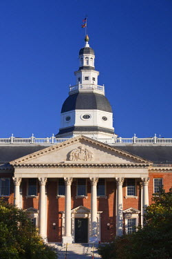 US29066 USA, Maryland, Annapolis, Maryland State Capitol