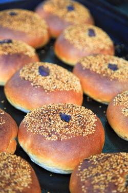 SY01071 Syria, Damascus, Straight Street, Bakery