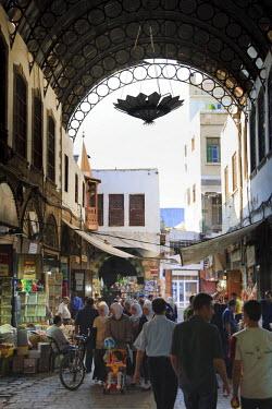 SY01075 Syria, Damascus, Old, Town, Souq al-Hamidiyya, Spice and Jewellery Souk