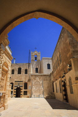 SY01148 Syria, Aleppo, The Old Town (UNESCO Site), Armenian Cathedral of the 40 Martyrs