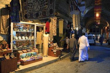 SY01134 Syria, Aleppo, The Old Town (UNESCO Site), Souq