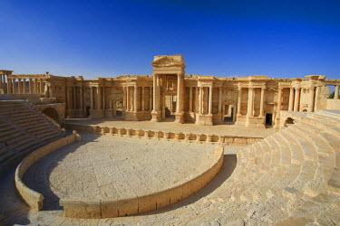 SY01115 Syria, Palmyra ruins (UNESCO Site), Theatre