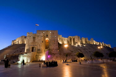 SY01193 Syria, Aleppo, Old Town (UNESCO Site), The Citadel