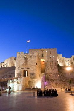 SY01194 Syria, Aleppo, Old Town (UNESCO Site), The Citadel