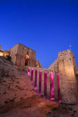 SY01191 Syria, Aleppo, Old Town (UNESCO Site), The Citadel