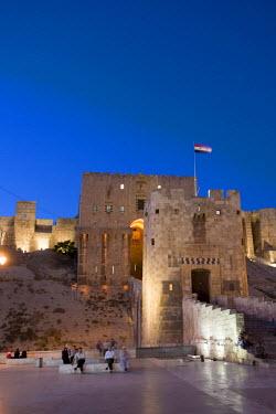 SY01192 Syria, Aleppo, Old Town (UNESCO Site), The Citadel