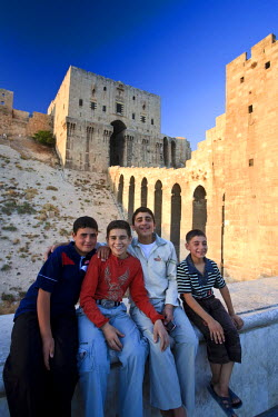 SY01185 Syria, Aleppo, Old Town (UNESCO Site), The Citadel