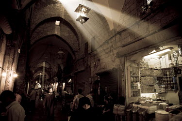 SY01168 Syria, Aleppo, Old Town (UNESCO Site), Old Souq