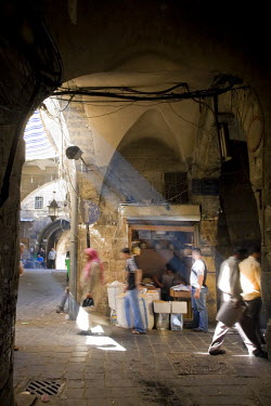 SY01165 Syria, Aleppo, Old Town (UNESCO Site), Old Souq