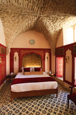 SY01153 Syria, Aleppo, The Old Town (UNESCO Site), Former Damascene House now converted to a Luxury Hotel
