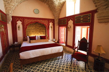 SY01152 Syria, Aleppo, The Old Town (UNESCO Site), Former Damascene House now converted to a Luxury Hotel