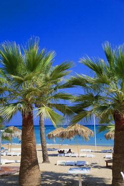 SY01204 Syria, Northern Coast, Lattakia, Shaati al Azraq Beach Resort (Syria's premier coastal resort)