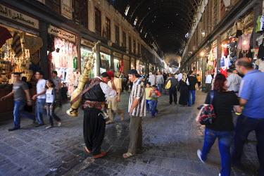 SY01297 Syria, Damascus, Old, Town, Souq al Hamidiyya